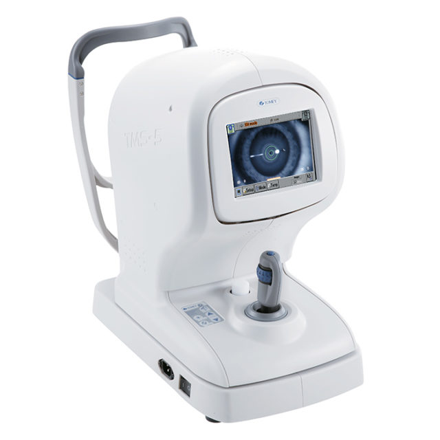 Topographe à caméra Scheimpflug et Placido TMS-5 - Tomey