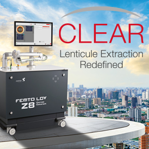 Nouveau module CLEAR laser femto LDV Z8 - Ziemer