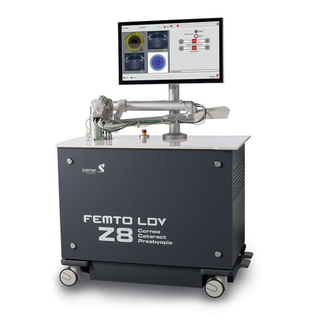Laser Femto LDV Z8 - Ziemer